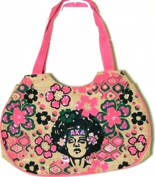 View Buying Options For The Alpha Kappa Alpha Afrocentric Strong Woman Jute Bag