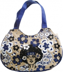 View Buying Options For The Zeta Phi Beta Afrocentric Strong Woman Jute Bag