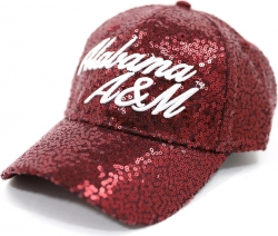 View Buying Options For The Big Boy Alabama A&M Bulldogs S41 Ladies Sequins Cap