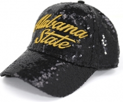 View Buying Options For The Big Boy Alabama State Hornets S41 Ladies Sequins Cap