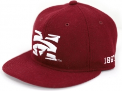 View Buying Options For The Big Boy Morehouse Maroon Tigers S41 Wool Mens Cap