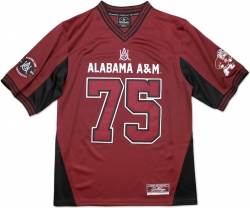 View Buying Options For The Big Boy Alabama A&M Bulldogs S11 Mens Football Jersey