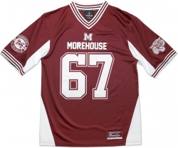 View Buying Options For The Big Boy Morehouse Maroon Tigers S11 Mens Football Jersey