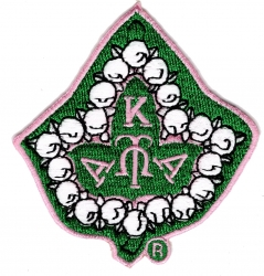 View Buying Options For The Alpha Kappa Alpha Pearl Ivy Leaf Iron-On Patch