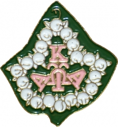 View Buying Options For The Alpha Kappa Alpha Pearl Ivy Leaf Lapel Pin
