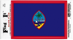 View Buying Options For The Guam Flag Car Decal Sticker [Pre-Pack]