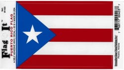 View Buying Options For The Puerto Rico Flag Car Decal Sticker [Pre-Pack]