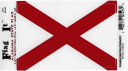 View Buying Options For The Alabama State Flag Car Decal Sticker [Pre-Pack]