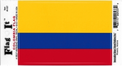View Buying Options For The Colombia Flag Car Decal Sticker