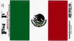View Buying Options For The Mexico Flag Car Decal Sticker [Pre-Pack]