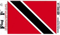 View Buying Options For The Trinidad & Tobago Flag Car Decal Sticker [Pre-Pack]