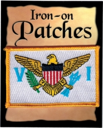 View Buying Options For The Virgin Islands Flag Iron-On Patch [Pre-Pack]
