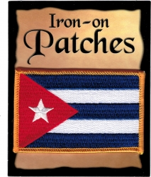 View Buying Options For The Cuba Flag Iron-On Patch [Pre-Pack]