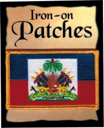 View Buying Options For The Haiti Flag Iron-On Patch [Pre-Pack]
