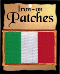 View Buying Options For The Italy Flag Iron-On Patch [Pre-Pack]