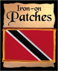 View Buying Options For The Trinidad & Tobago Flag Iron-On Patch [Pre-Pack]