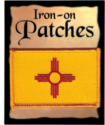 View Buying Options For The New Mexico State Flag Iron-On Patch [Pre-Pack]