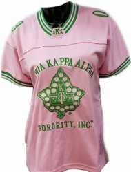 View Buying Options For The Alpha Kappa Alpha Sorority, Inc. Ladies Football Jersey