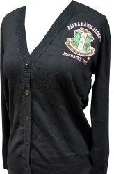 View Buying Options For The Buffalo Dallas Alpha Kappa Alpha Classic Light Weight Ladies Cardigan