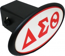 View Buying Options For The Delta Sigma Theta Mirror Domed Trailer Hitch Cover