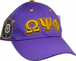 View Buying Options For The Omega Psi Phi Fraternity, Inc. Low-Profile Mens Cap