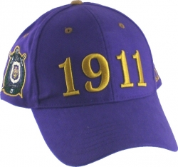 View Buying Options For The Omega Psi Phi 1911 Low-Profile Fraternity Mens Cap
