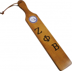 View Buying Options For The Zeta Phi Beta Branded Letters Traditional Paddle