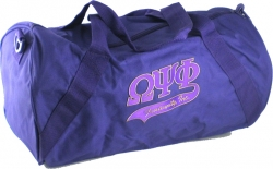 View Buying Options For The Omega Psi Phi Athletic Barrel Gym Duffle Bag