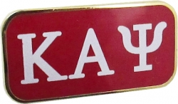 View Buying Options For The Kappa Alpha Psi 3 Letter Rectangular Lapel Pin