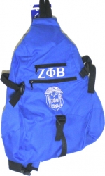 View Buying Options For The Zeta Phi Beta Crest Sling Backpack