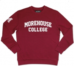 View Buying Options For The Big Boy Morehouse Maroon Tigers Mens Sweatshirt