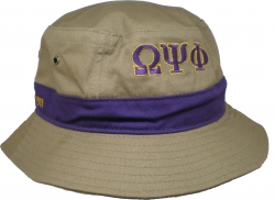 View Buying Options For The Omega Psi Phi Fraternity Mens Floppy Bucket Hat