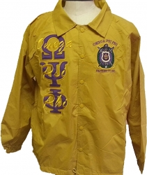 View Buying Options For The Buffalo Dallas Omega Psi Phi Mens Crossing Line Jacket