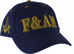 View Buying Options For The Prince Hall Mason F&AM Low-Profile Mens Cap
