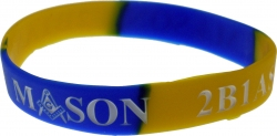 View Buying Options For The Mason 2B1 ASK1 Color Swirl Silicone Bracelet [Pre-Pack]