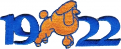 View Buying Options For The Sigma Gamma Rho 1922 Poodle Mascot Iron-On Patch