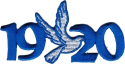 View Buying Options For The Zeta Phi Beta 1920 Dove Mascot Iron-On Patch