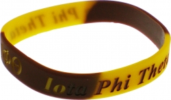 View Buying Options For The Iota Phi Theta Color Swirl Silicone Bracelet [Pre-Pack]