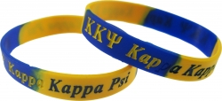 View Buying Options For The Kappa Kappa Psi Color Swirl Silicone Bracelet [Pre-Pack]
