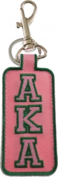 View Buying Options For The Alpha Kappa Alpha Founded 1908 Embroidered Clip Keychain