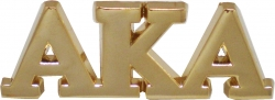 View Buying Options For The Alpha Kappa Alpha Big Letter Lapel Pin
