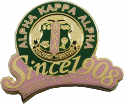 View Buying Options For The Alpha Kappa Alpha Sorority, Inc. Since 1908 Lapel Pin