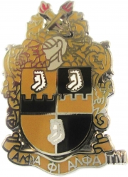 View Buying Options For The Alpha Phi Alpha Shield Lapel Pin