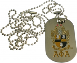 View Buying Options For The Alpha Phi Alpha 1906 Double Sided Dog Tag