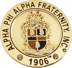 View Buying Options For The Alpha Phi Alpha Fraternity, Inc. Rhinestone Lapel Pin