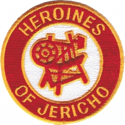 View Buying Options For The Heroines of Jericho Emblem Round Iron-On Patch