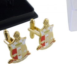View Buying Options For The Kappa Alpha Psi Shield Mens Cuff Links