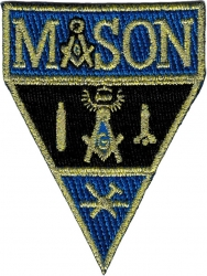 View Buying Options For The Mason Working Tools Military Style Iron-On Patch