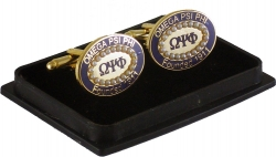 View Buying Options For The Omega Psi Phi 20 Pearl Oval Cuff Links