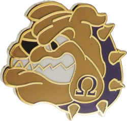 View Buying Options For The Omega Psi Phi Bulldog Face Lapel Pin